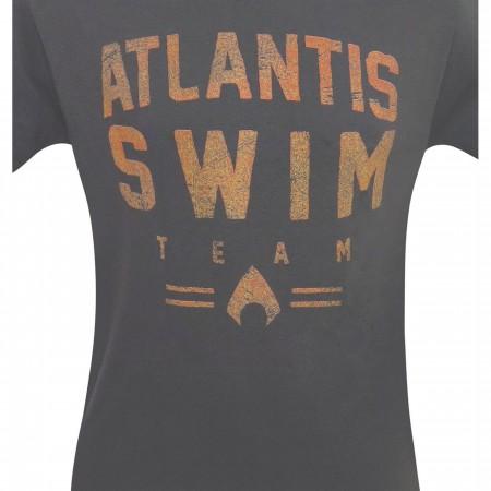 Aquaman Atlantis Swim Team Men's T-Shirt