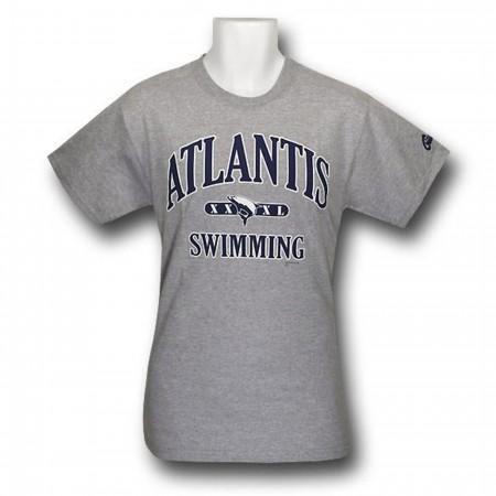 Aquaman Atlantis Swim Team Heather T-Shirt