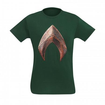 Justice League Movie Aquaman Symbol Men's T-Shirt