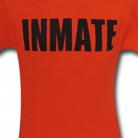 Arkham Asylum Inmate Orange T-Shirt