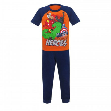 Avengers Heroes Kids T-Shirt & Sweatpants Set