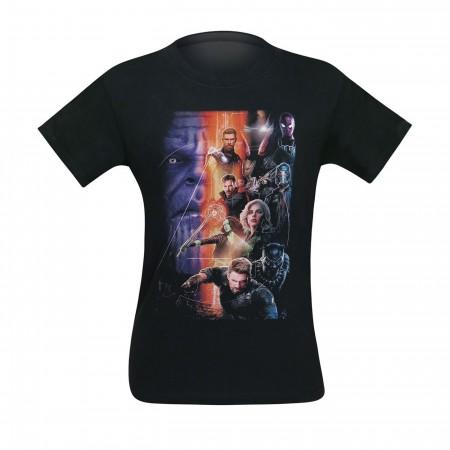 Avengers Infinity War Brave Heroes Men's T-Shirt