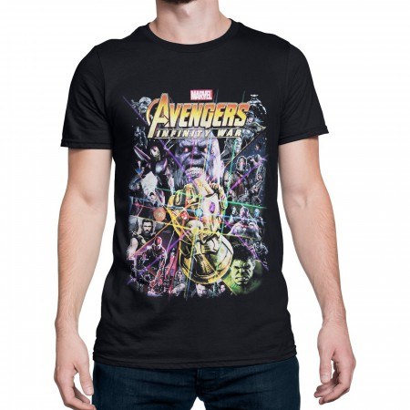 Avengers Infinity War Movie Poster Men's T-Shirt