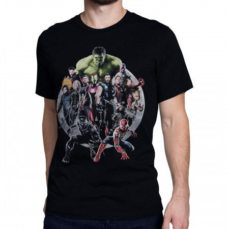 Avengers Infinity War United Men's T-Shirt
