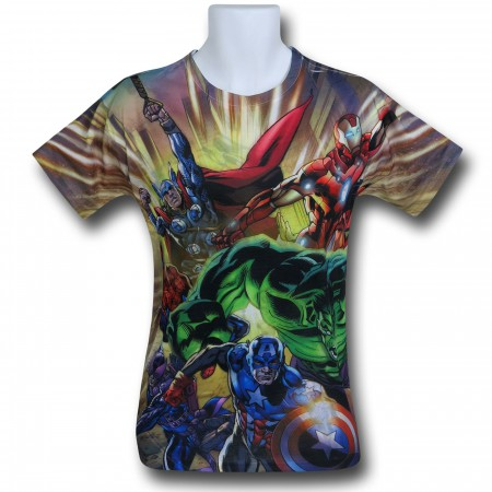 Avengers Berserk Sublimated T-Shirt