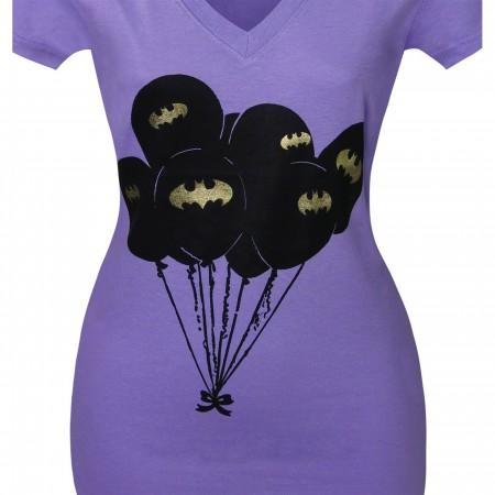 Batman Symbol Balloons Women's T-Shirt