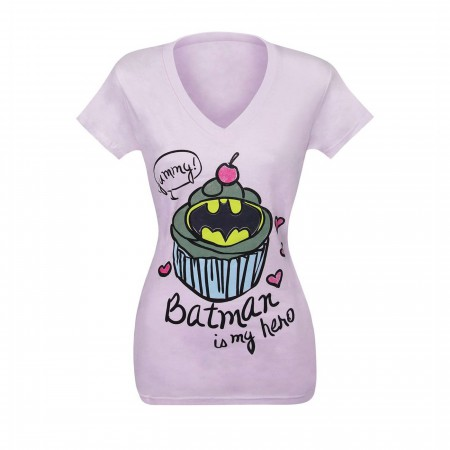 Batman is My Hero Cupcake Women's T-Shirt