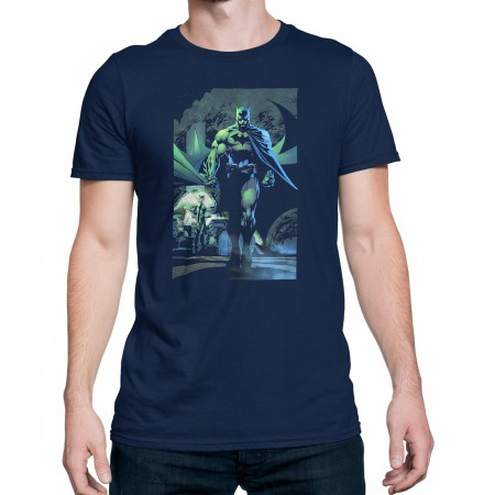 Batman Hush Batcave with Catwoman Men's T-Shirt