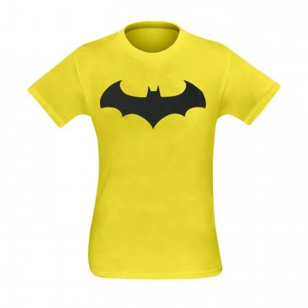 Batman Symbol IV Yellow T-Shirt