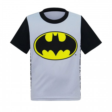 Batman Symbol Two-Tone Kids T-Shirt