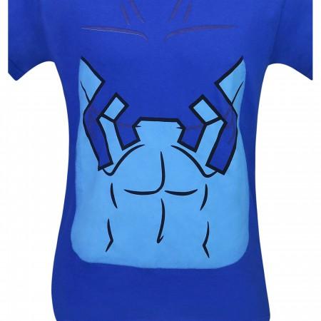 Blue Beetle Costume Men's T-Shirt