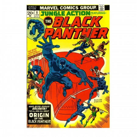 Black Panther Jungle Action #8 Cover Men's T-Shirt