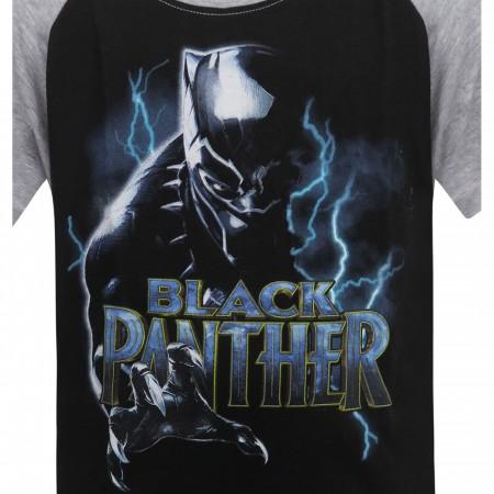 Black Panther Lightning Kids T-Shirt