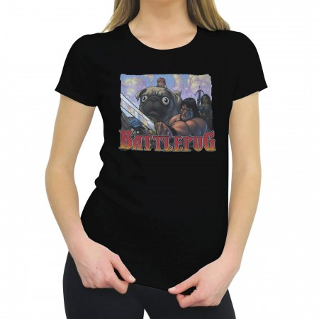 BattlePug Framed Women's T-Shirt