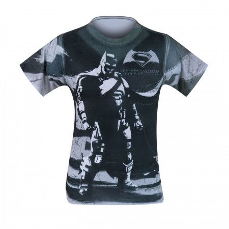 Batman Vs Superman Batman Contrast Sublimated T-Shirt