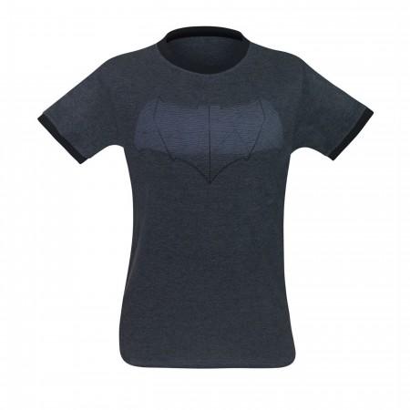 Batman Symbol BVS Men's Ringer T-Shirt