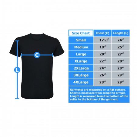Black Widow Circle Men's T-Shirt