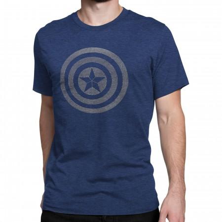 Captain America Civil War 3D Gradient Shield T-Shirt