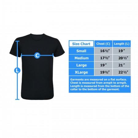 Captain America Minimalist Athletic Kids T-Shirt