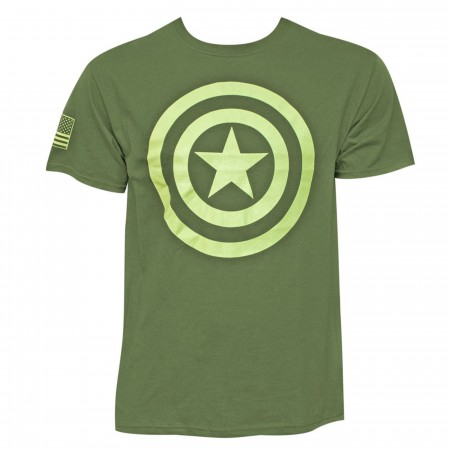 Captain America Salute to Service Men's T-Shirt