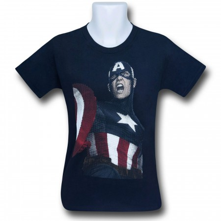 Captain America Sigiled Servant Youth T-Shirt