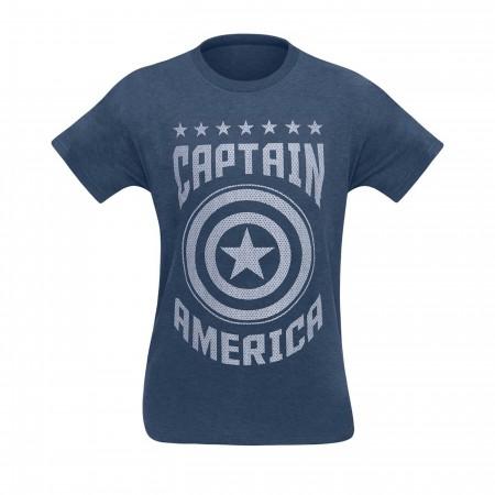 Captain America Varsity Men's T-Shirt