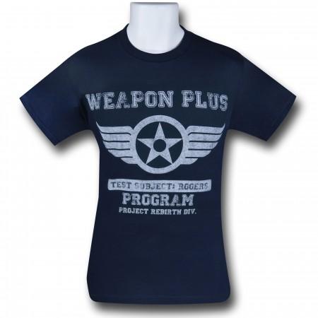 Captain America Weapon Plus T-Shirt