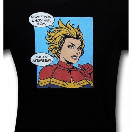 Captain Marvel Is An Avenger 30 Single T-Shirt