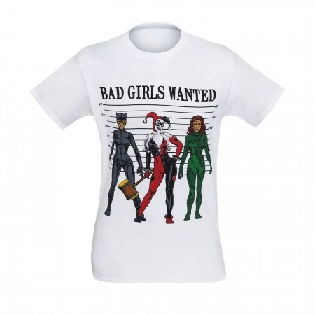 DC Bad Girls Wanted T-Shirt