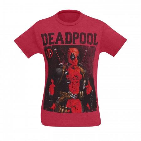 Deadpool Any Last Words? Men's T-Shirt
