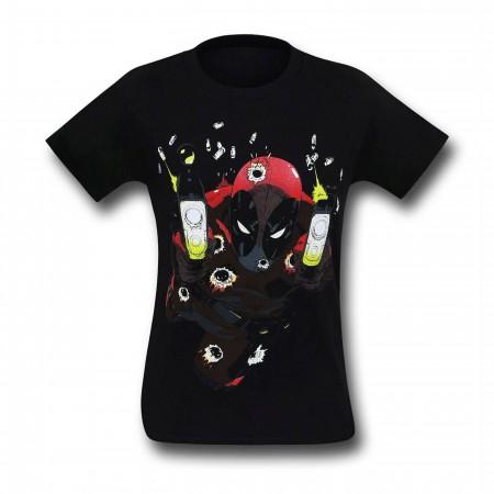 Deadpool Blam Blam Blam Glow T-Shirt