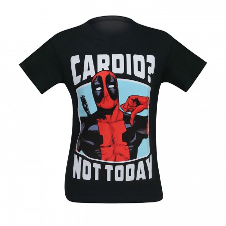 Deadpool Cardio? Not Today Men's T-Shirt