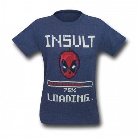 Deadpool Insult Loading Men's T-Shirt