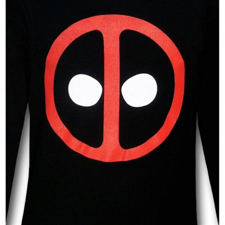 Deadpool Symbol Icon Long Sleeve T-Shirt