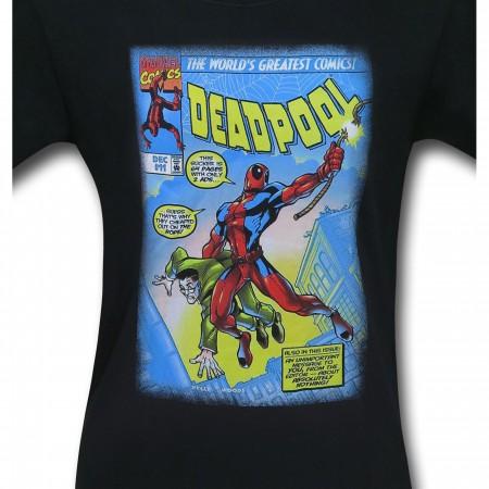 Deadpool Strong Pool Comic Cover Men's T-Shirt
