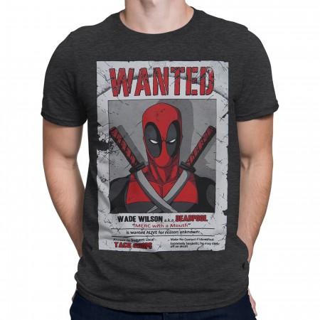 Deadpool Wade Wilson Wanted Men's T-Shirt