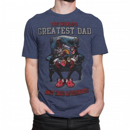 Deadpool World's Greatest Dad Men's T-Shirt
