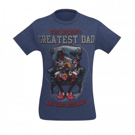 Deadpool World's Greatest Dad Men's T-Shirt
