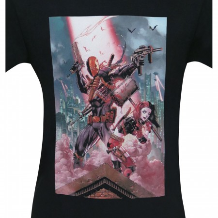 Deathstroke & Harley Quinn Men's T-Shirt