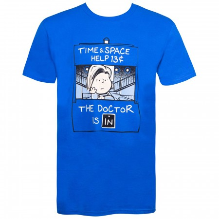 Dr. Brown Time & Space Help Men's T-Shirt