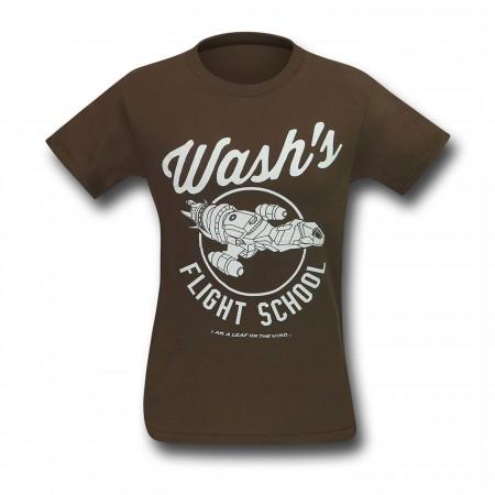 Firefly Wash's Flight School Men's T-Shirt