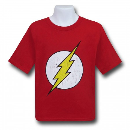 Flash Kids Distressed Symbol T-Shirt