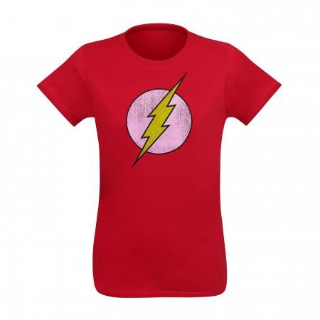 Flash Distressed Symbol Factory Second Women's T-Shirt