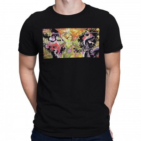 Gotham City Sirens Villainous Trio Men's T-Shirt