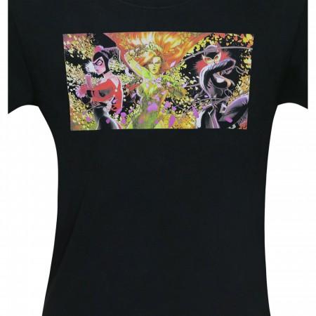 Gotham City Sirens Villainous Trio Men's T-Shirt