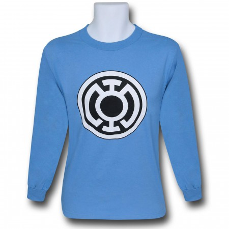 Green Lantern Blue Lantern Symbol Long Sleeve T-Shirt