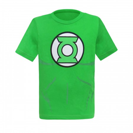 Green Lantern Classic Costume Juvenile T-Shirt