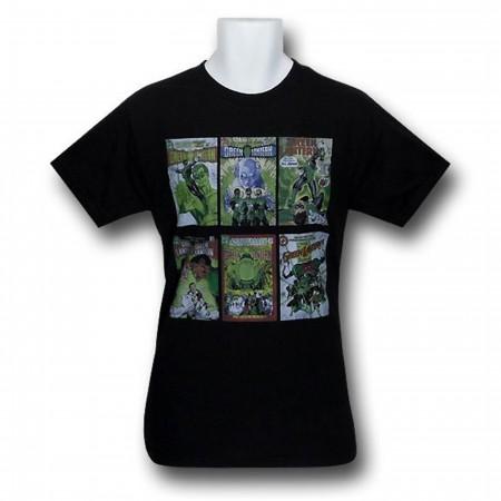 Green Lantern Classic Covers T-Shirt