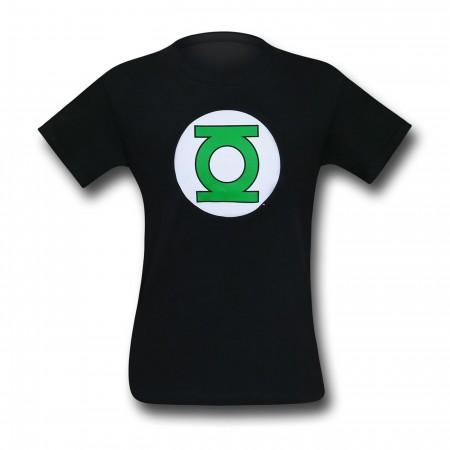 Green Lantern Symbol Black T-Shirt