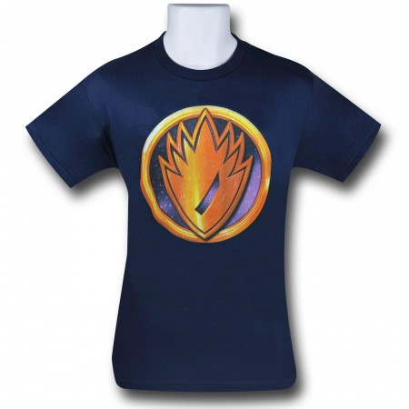 Guardians Rocket Symbol 30 Single T-Shirt